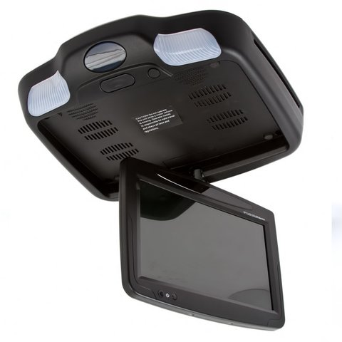 """9"""" Car Flip Down Monitor with DVD Player (Black) Preview 4"""