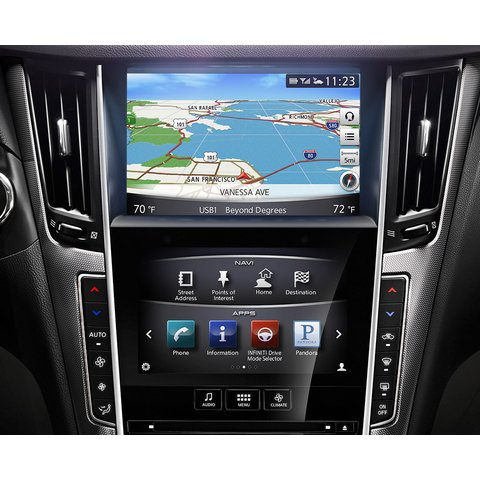 Q-ROI Navigation System on Android for Infiniti Q50 Preview 6