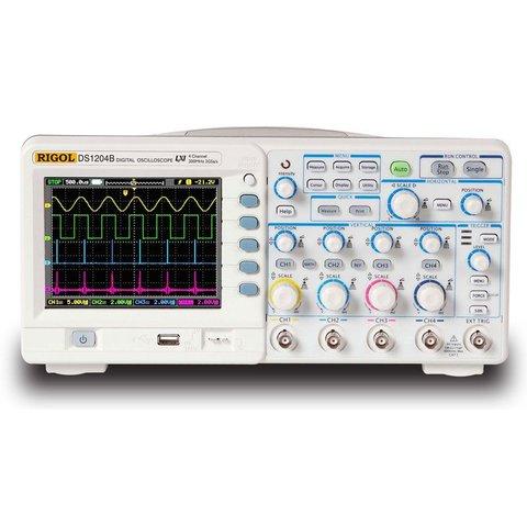 Цифровой 4-канальный осциллограф RIGOL DS1104B Превью 3