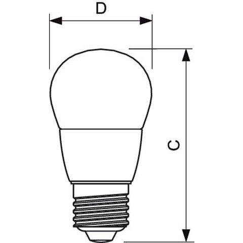 LED-лампа Philips CorePro Candle, WW (теплий білий), E27, 5.5 Вт, 470 лм Прев'ю 1