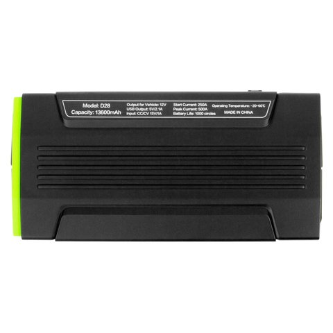 Car Portable Jump Starter and Power Bank D28 in Soft Case Preview 3